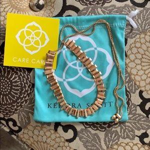 Kendra Scott Rose Gold Adjustable Necklace